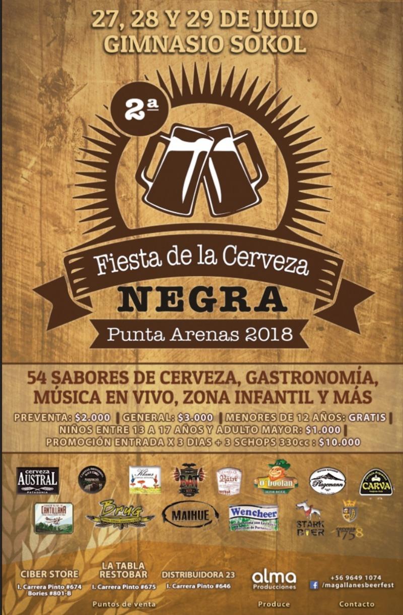 2da Fiesta de la Cerveza Negra Punta Arenas 2018