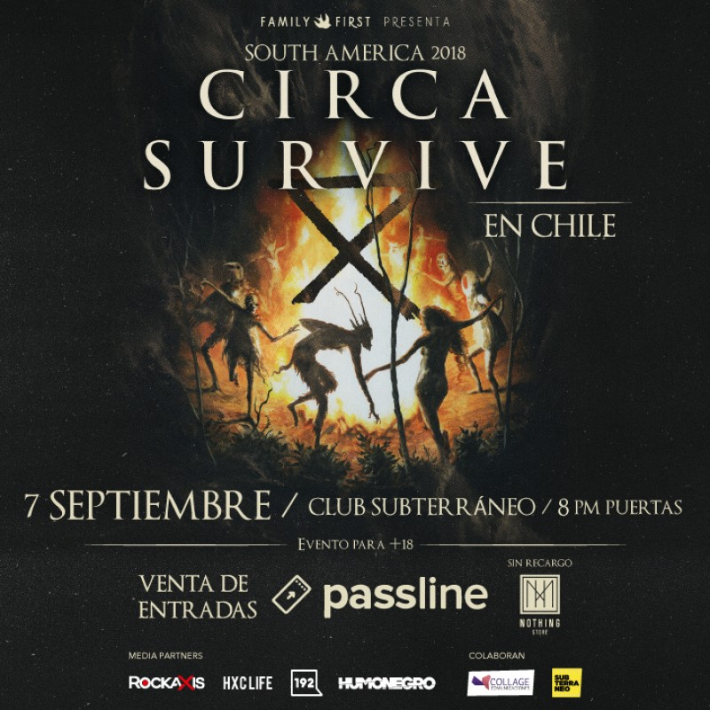 Circa Survive en Chile!