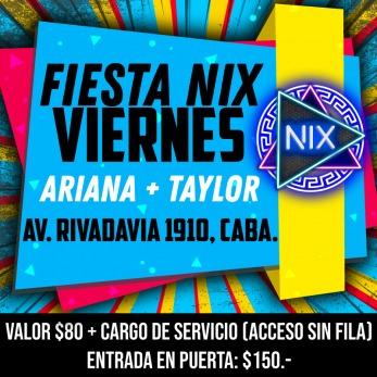 Fiesta Nix Viernes 5 Julio 1 Am En Av Rivadavia 1910 Passline
