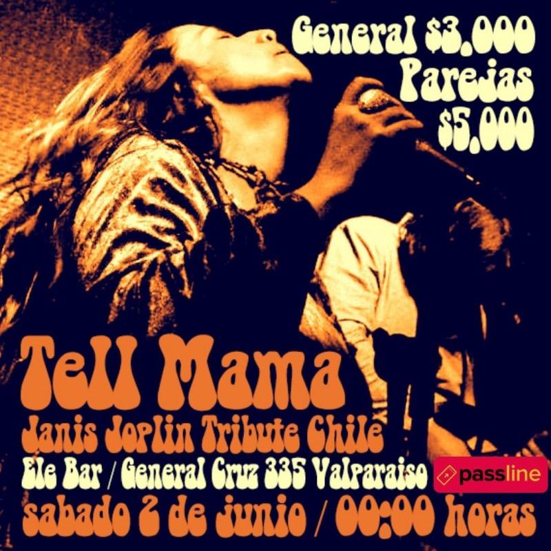 Janis joplin comes a live  Ele Bar Viña Del Mar