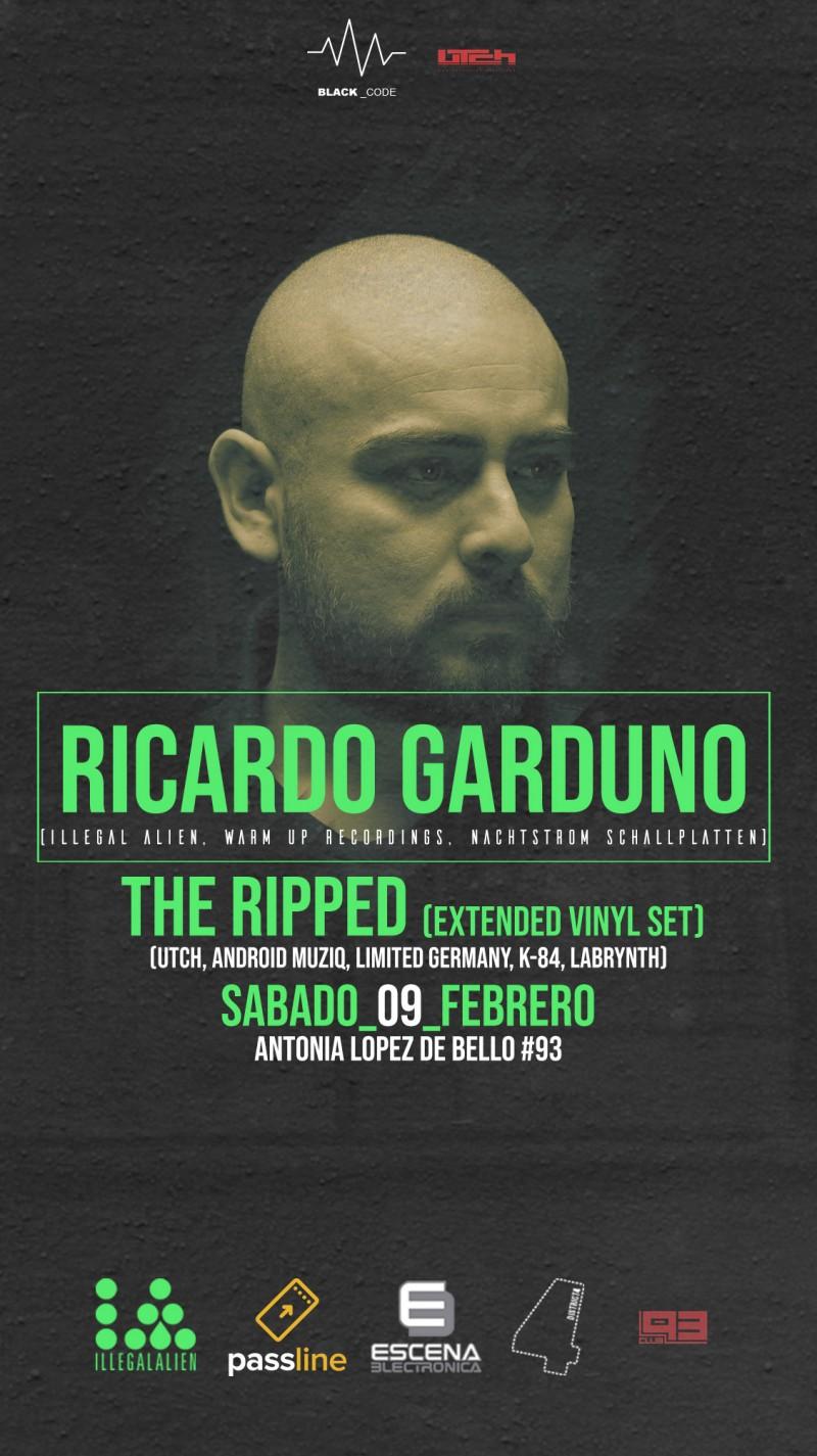 Ricardo Garduno MEX / ILLEGAL ALIEN, WARM UP RECORDINGS, NACHTSTROM