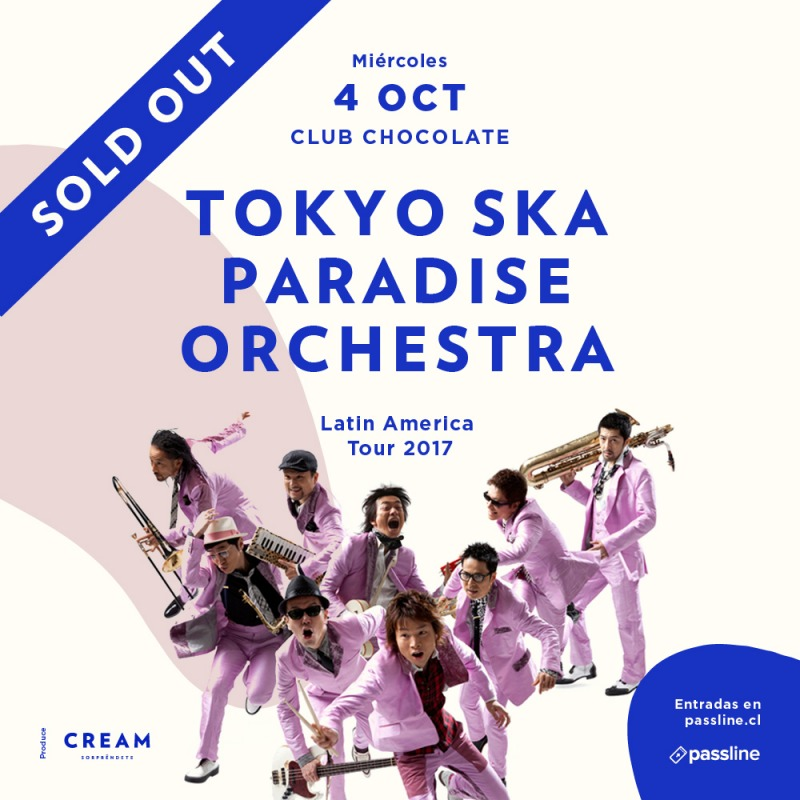 Tokyo Ska Paradise Orchestra Tour