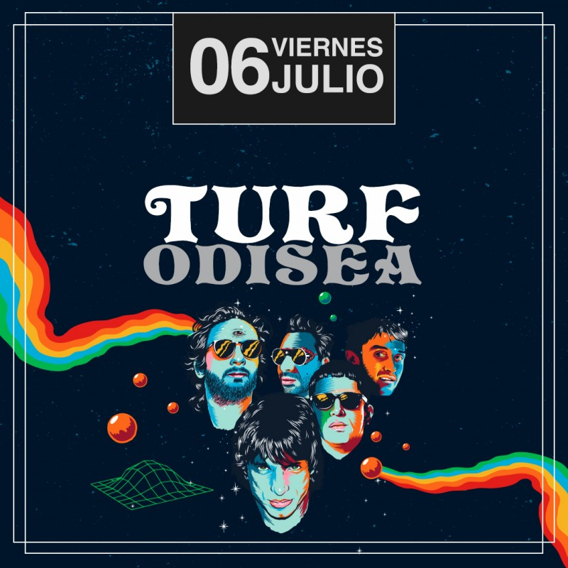 TURF - VIERNES 6 DE JULIO - CLUB CHOCOLATE