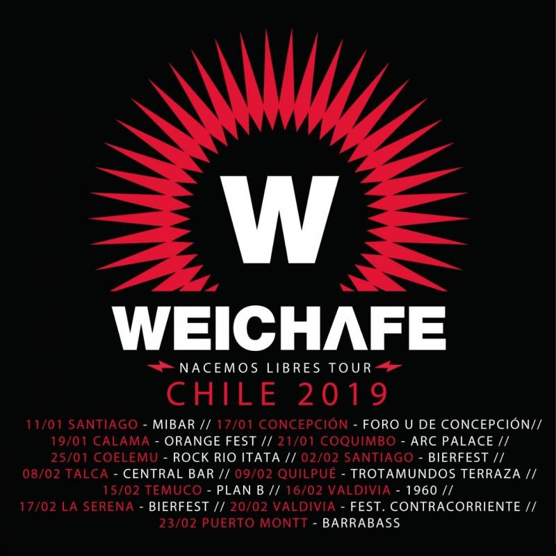 Weichafe, Nacemos Libres Tour: Plan B Temuco