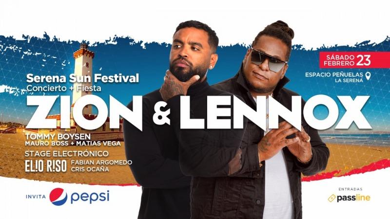 ZION Y LENNOX // SERENA SUN FEST